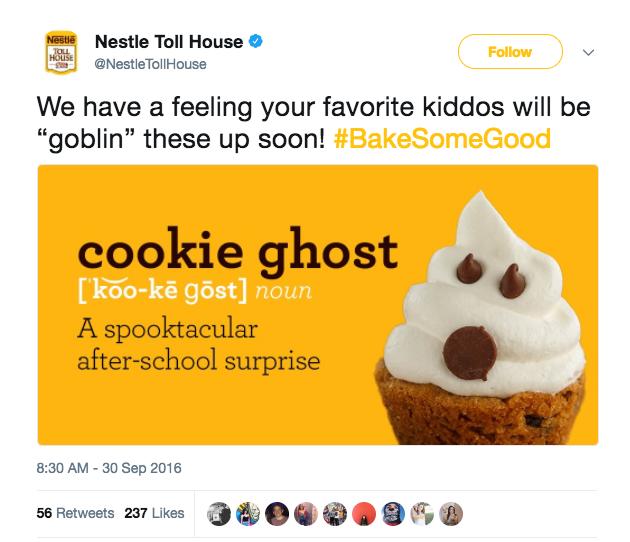 cookie ghost tweet