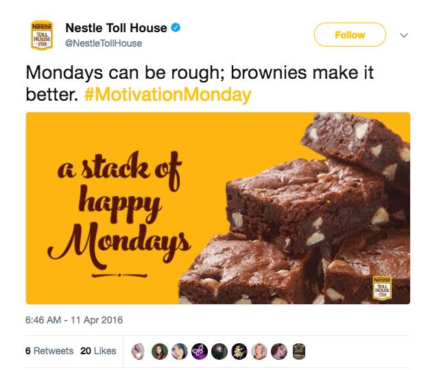 brownie tweet